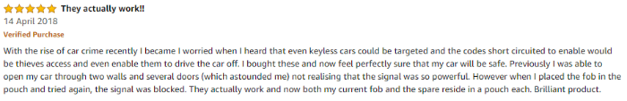 key fob review
