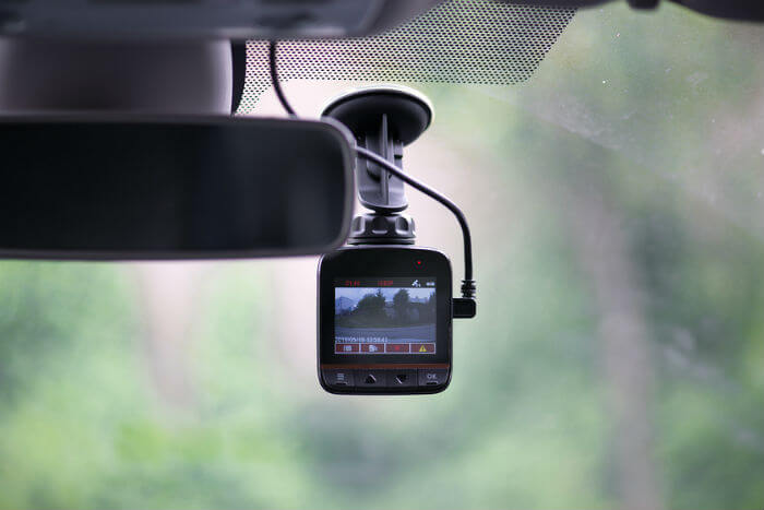 dashcam recording