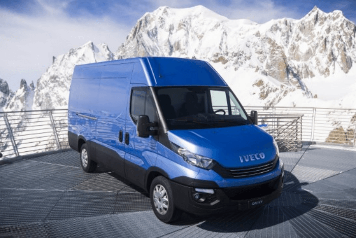 Iveco electric van