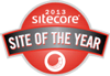 Sitecore site of the year logo