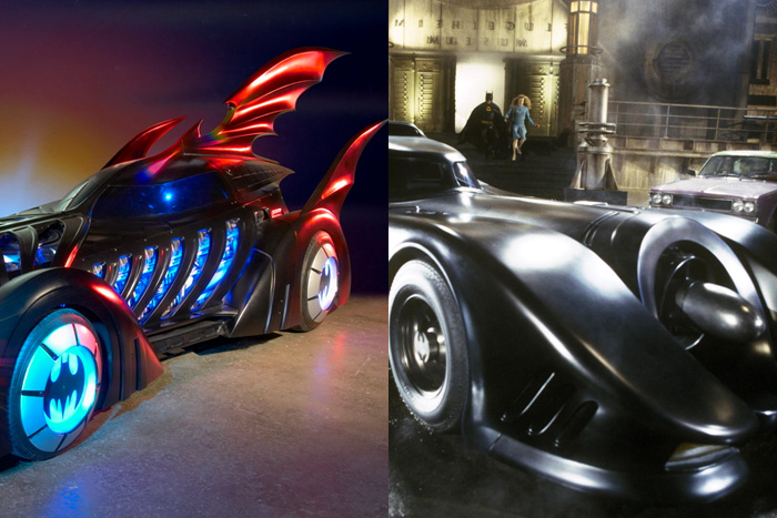 Batmobile ranking