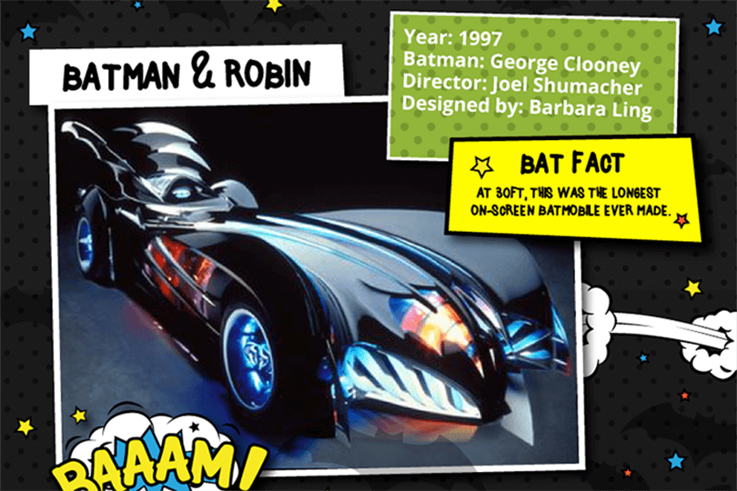 Batmobile - Batman and Robin