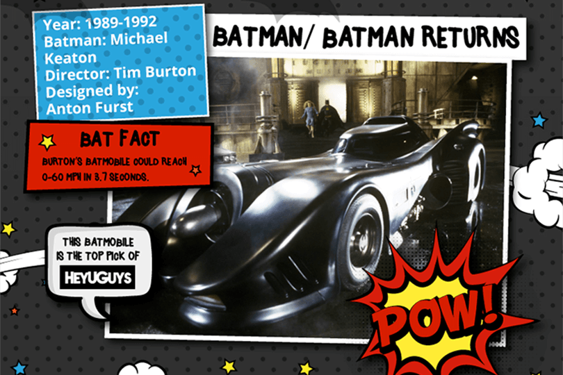 Batmobile - Tim Burton's car