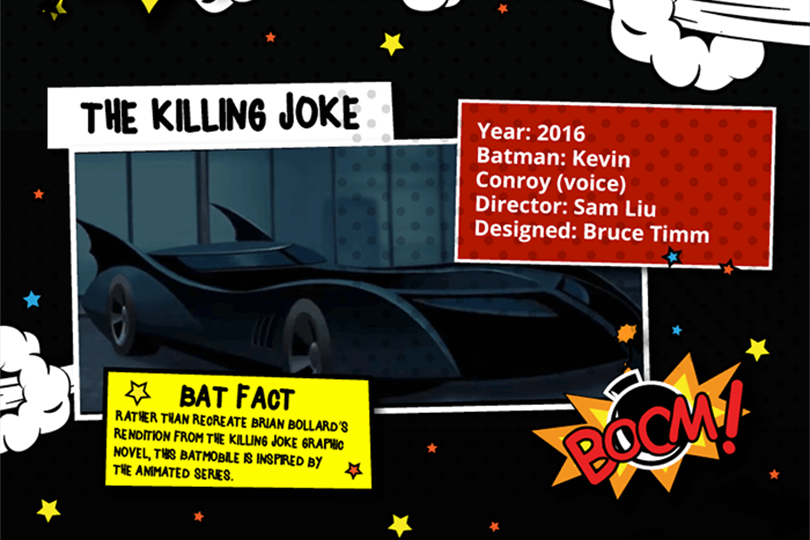 Batmobile - The Killing Joke