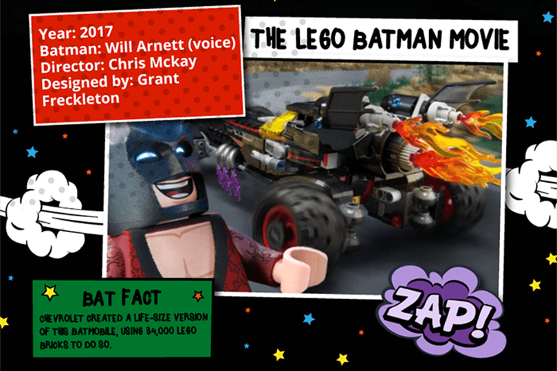 Batmobile - The LEGO Batman Movie