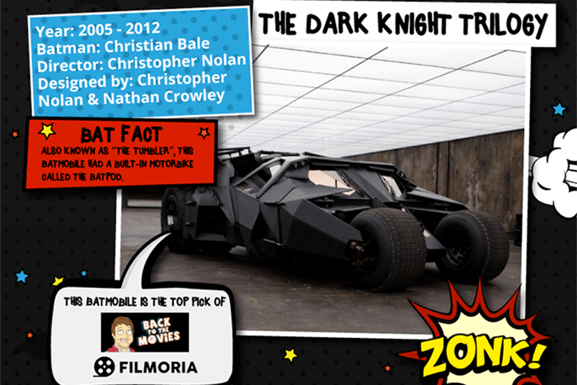 Batmobile - TheDark Knight Trilogy