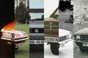 A collage of the best and worst cars from the 70s