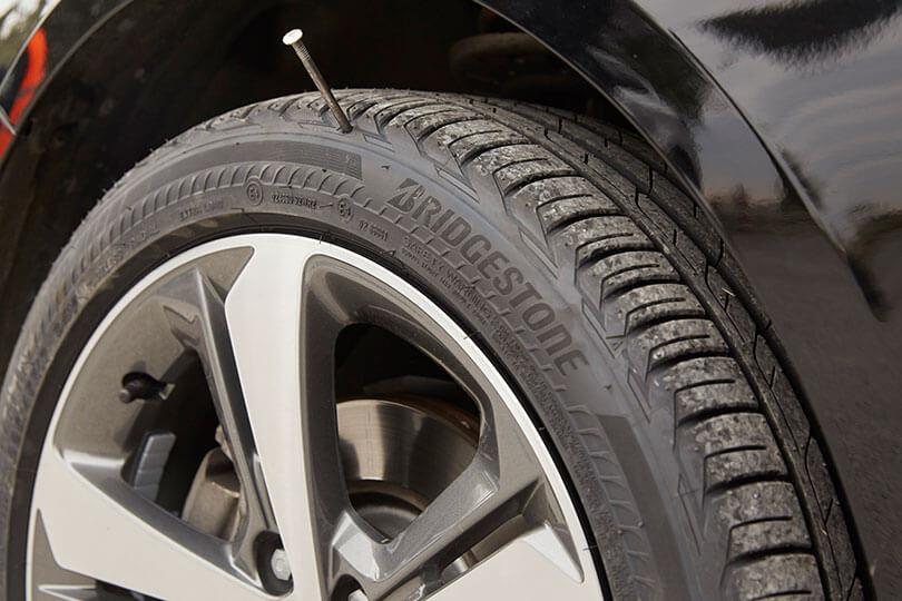 Bridgestone DriveGuard tyre
