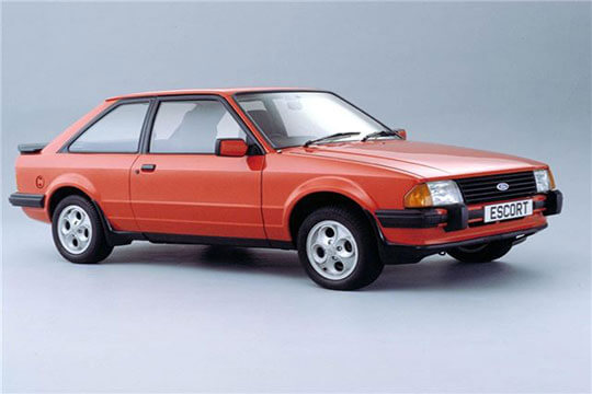 Which Car Brands Dominated The Eighties Nineties And Noughties What Motors Will We Be Driving In Future Red Ford Escort