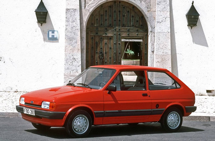 Ford Fiesta Mark 2