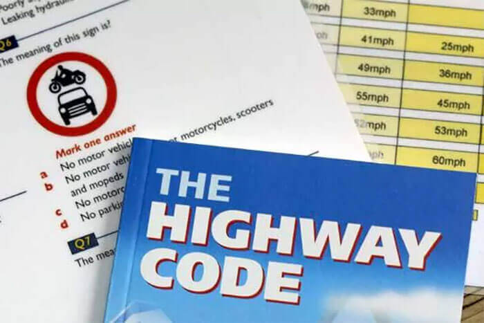 Highway code book