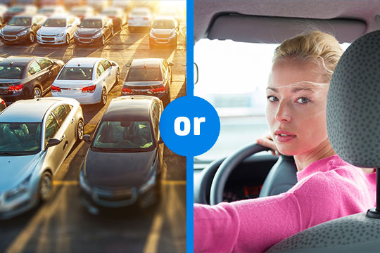 Would you rather - parking spaces