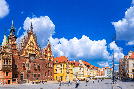 City in Poland
