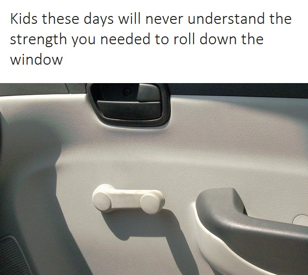 roll down window