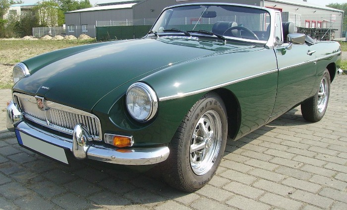 The MGB Roadster