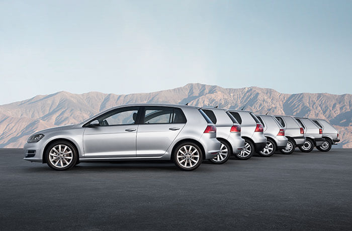 A brief history of the Volkswagen Golf - Confused com