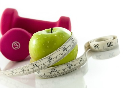 Apple and weights