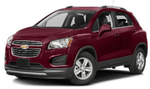 Chevrolet Trax red car