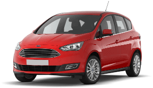 Ford CMax red car