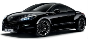 Peugeot RCZ black car