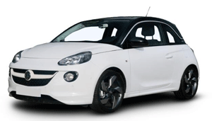 Vauxhall Adam white car