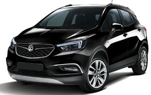 Vauxhall Mokka black car