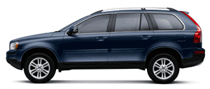 Volvo XC90 blue car